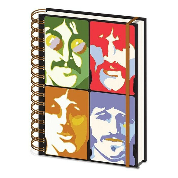 Beatles - Notebook Yellow Submarine - Faces