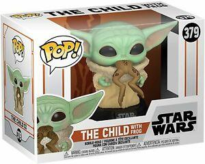 Star Wars - POP! Mandalorian The Child w/ Frog FUNKO
