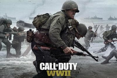 Call of Duty - Poster WWII - Popstore