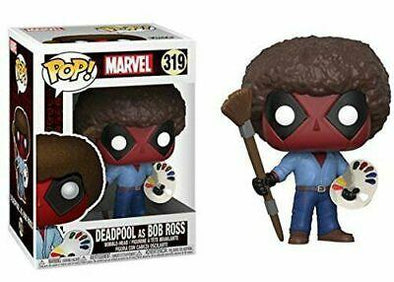 Deadpool - POP! Deadpool Bob Ross FUNKO
