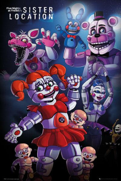 Five Nights At Freddy's - Poster Sister Location - Popstore