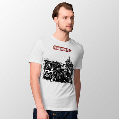 Walking Dead - T-shirt Logo Popstore