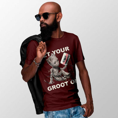 Guardiões da Galáxia - T-shirt Get Your Groot On Popstore