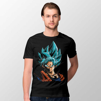 Dragon Ball - T-shirt Goku Blue