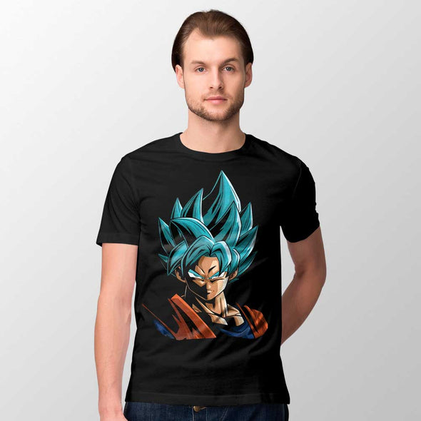 Dragon Ball - T-shirt Goku Blue Popstore