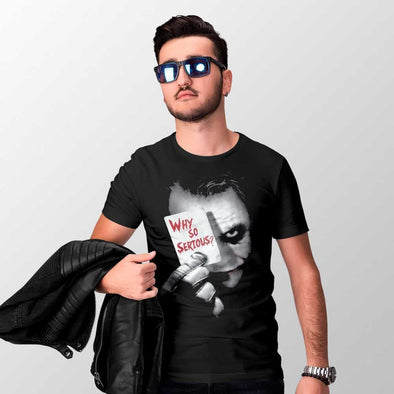 Joker - T-shirt Why So Serious? Popstore