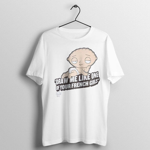 Family Guy - T-shirt Stewie French Girls Popstore