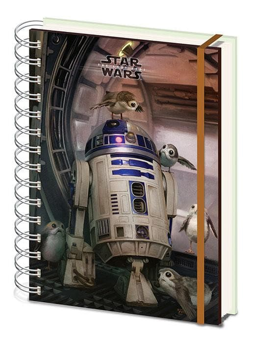 Star Wars - Notebook R2-D2 & Porgs Popstore