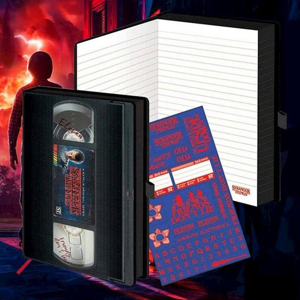 Stranger Things - Notebook Premium Popstore