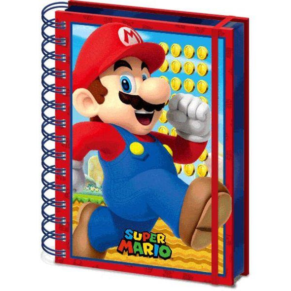 Super Mario - Notebook 3D Popstore