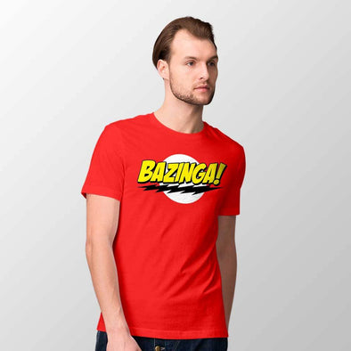 The Big Bang Theory - T-shirt Logo Bazinga Popstore