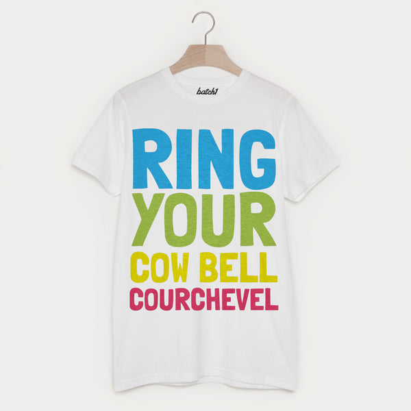 Courchevel Retro Men's Apres Ski Alpine Slogan T Shirt