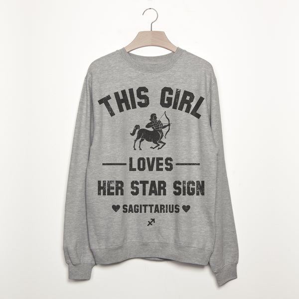 Sagittarius Women's Zodiac Star Sign Sweatshirt