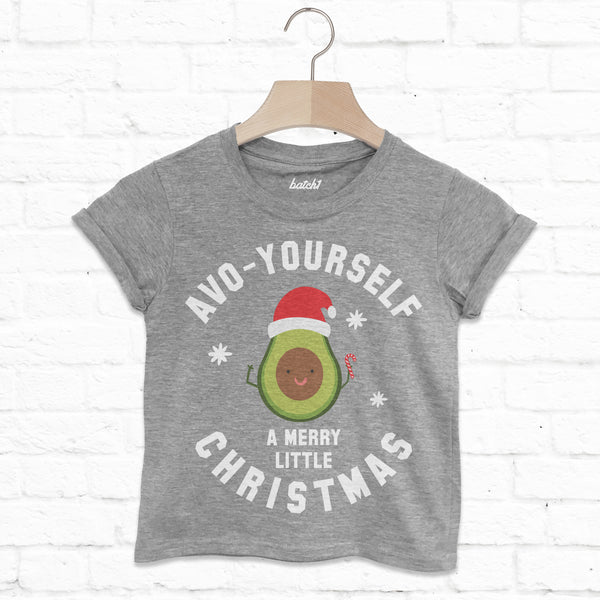 Avo Yourself A Merry Christmas Children's Avocado T Shirt