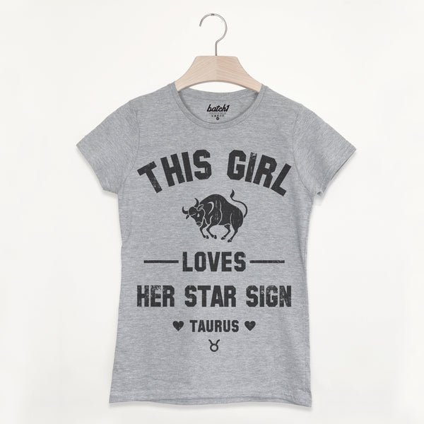 Taurus Women's Zodiac Star Sign T Shirt