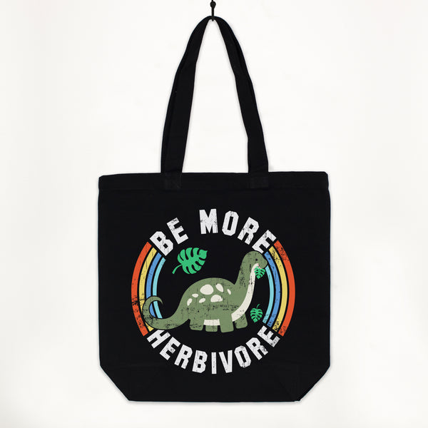 Be More Herbivore Women's Premium Tote Bag