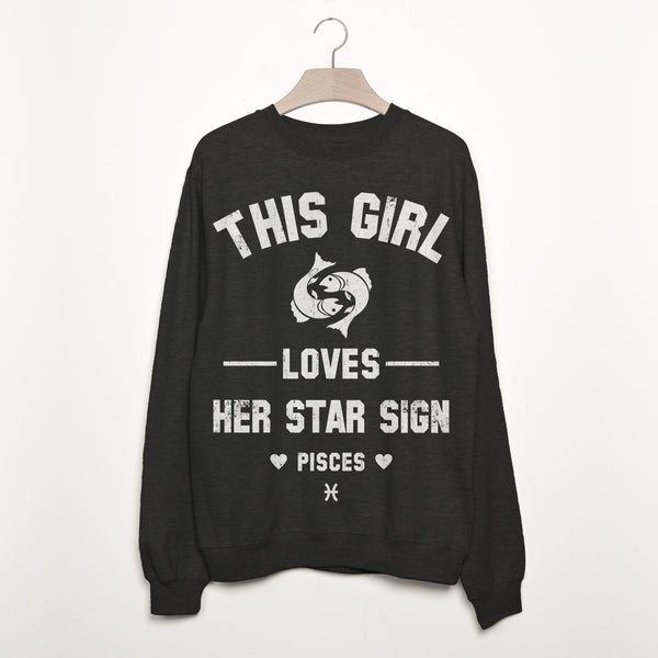 Pisces Women's Zodiac Star Sign Sweatshirt