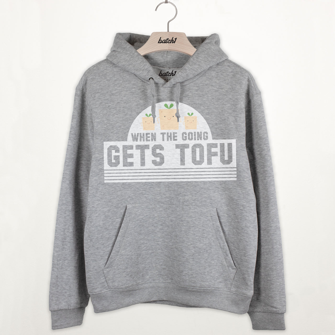 When The Going Gets Tofu Premium Slogan Hoodie