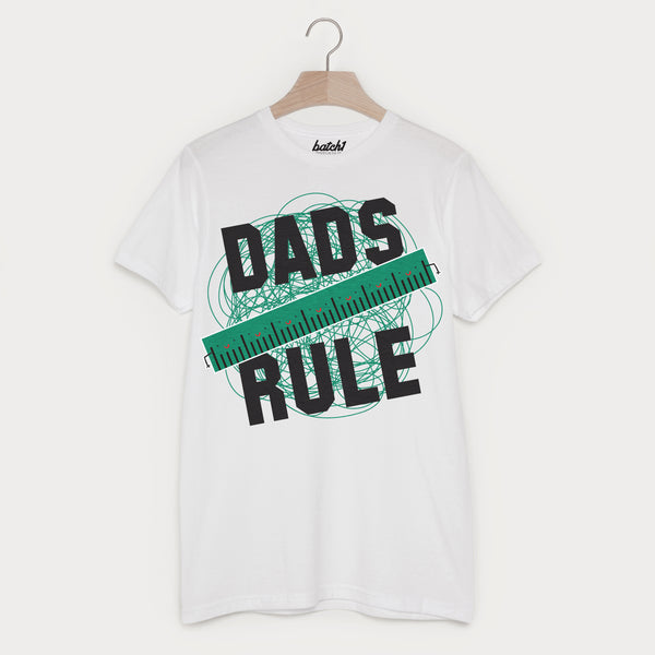 Dads Rule Men's Slogan T Shirt