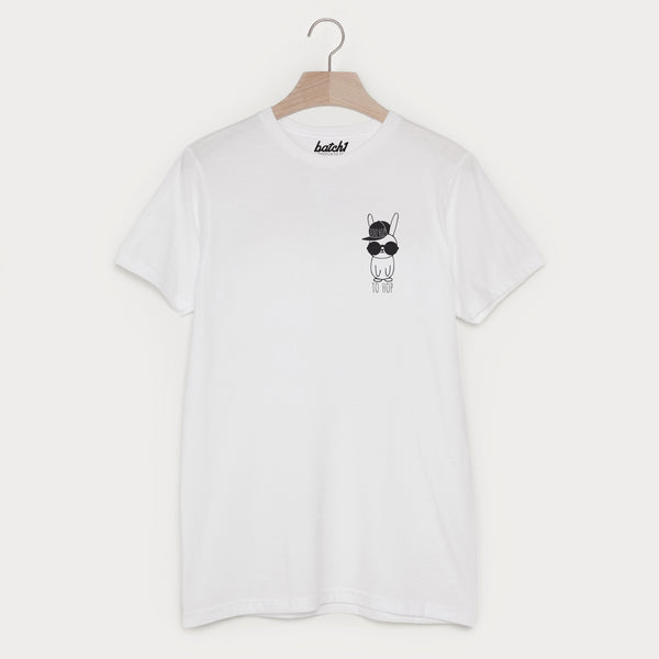 Hip Hop Bunny Men's Slogan T Shirt