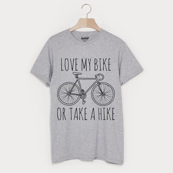 Love My Bike Or Take A Hike Men's Cycling T Shirt