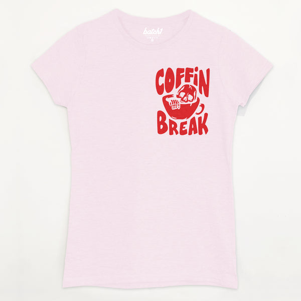 Coffin Break Women's Halloween T-Shirt