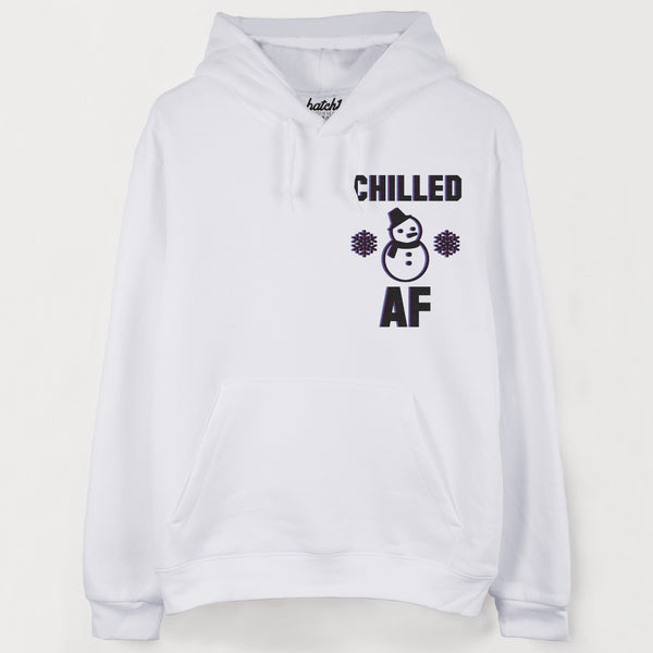 Chilled AF Men's Winter Hoodie