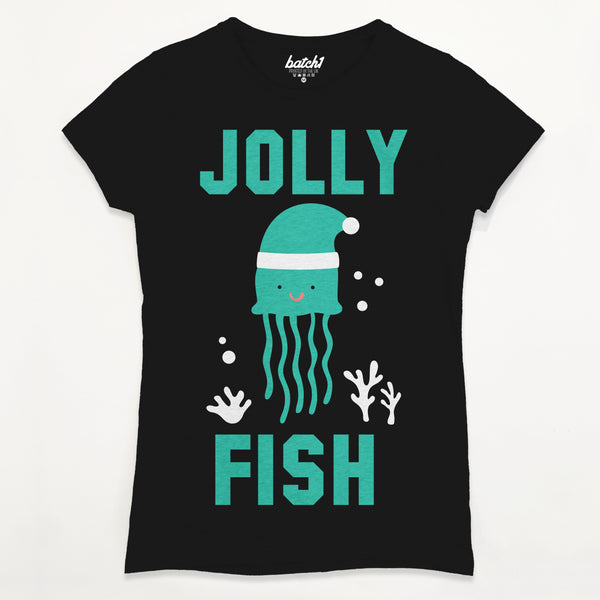 Jolly Fish Women's Christmas T-Shirt