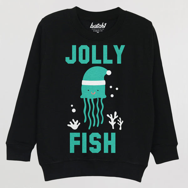 Jolly Fish Children's Christmas Jumper