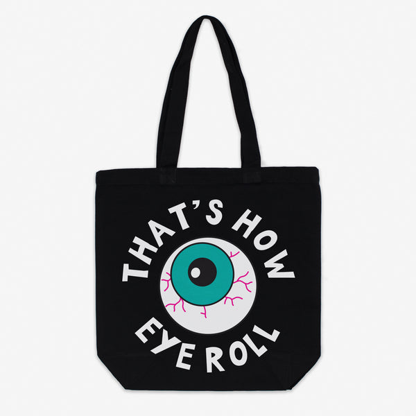 That's How Eye Roll Canvas Halloween Tote Bag