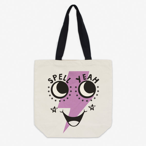 Spell Yeah Canvas Halloween Tote Bag
