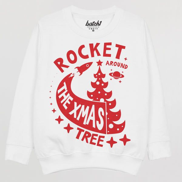 Rocket Around the Christmas Tree Children's Jumper