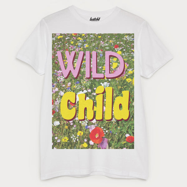 Wild Child Men's Slogan T-Shirt
