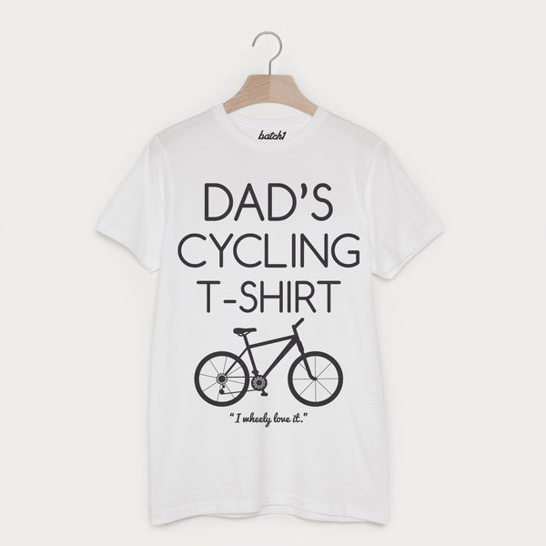 Dad's Cycling T Shirt