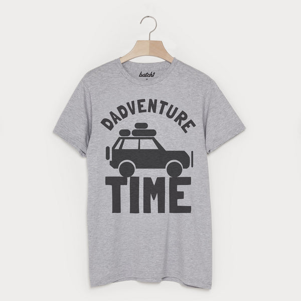 Dadventure Time Men's Slogan T Shirt