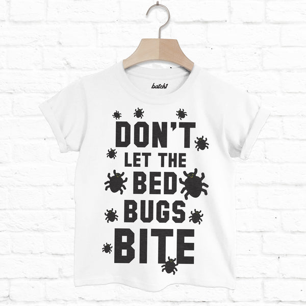 Don't Let The Bed Bugs Bite Children's Halloween T-Shirt