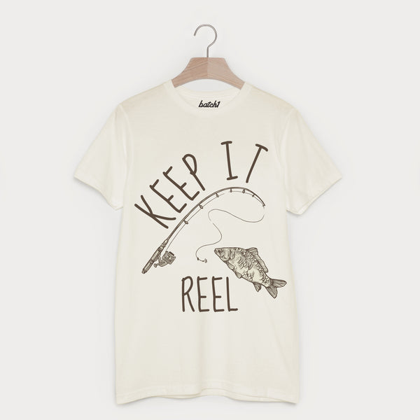 Keep It Reel Men's Fishing T Shirt
