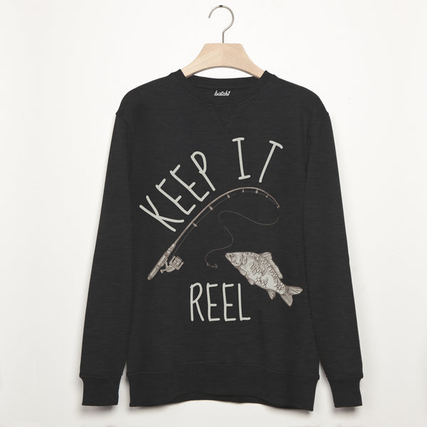 Keep It Reel Men's Fishing Sweatshirt