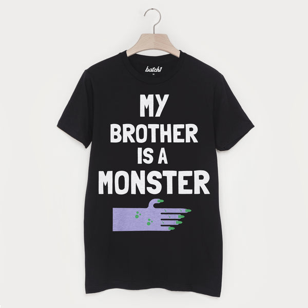 My Brother Is A Monster Unisex Halloween T-Shirt