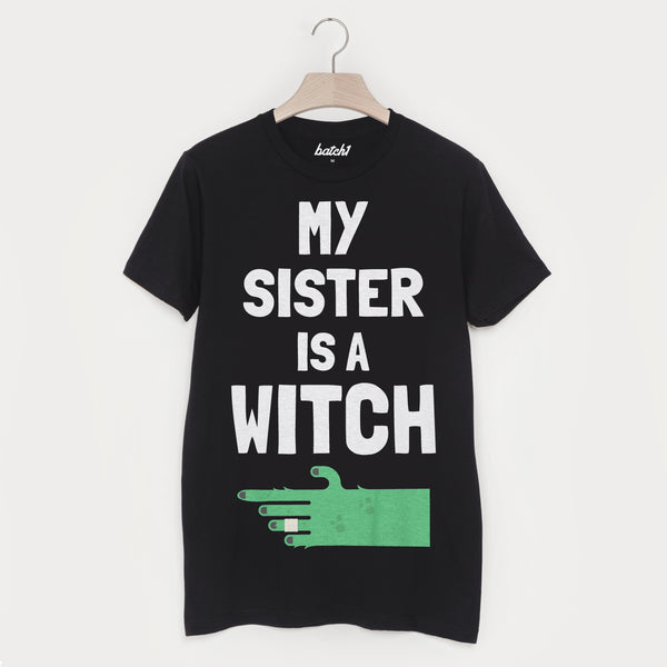 My Sister Is A Witch Unisex Halloween T-Shirt