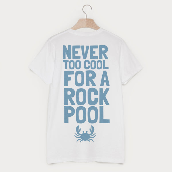 Never Too Cool For A Rock Pool Men's Holiday T Shirt