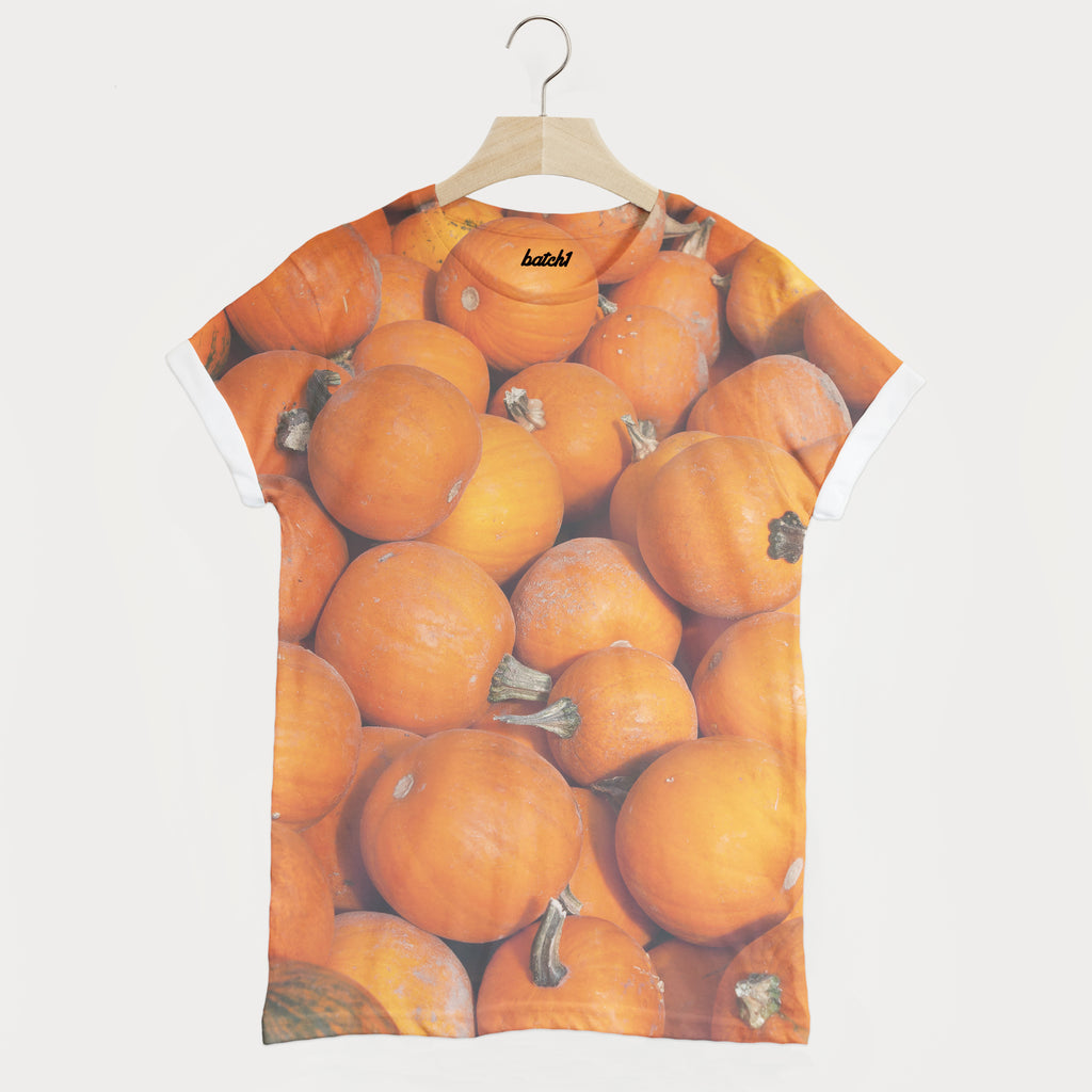 Halloween Pumpkin All Over Print Print Unisex T-Shirt