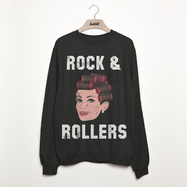 Rock and Rollers Women's Slogan Sweatshirt