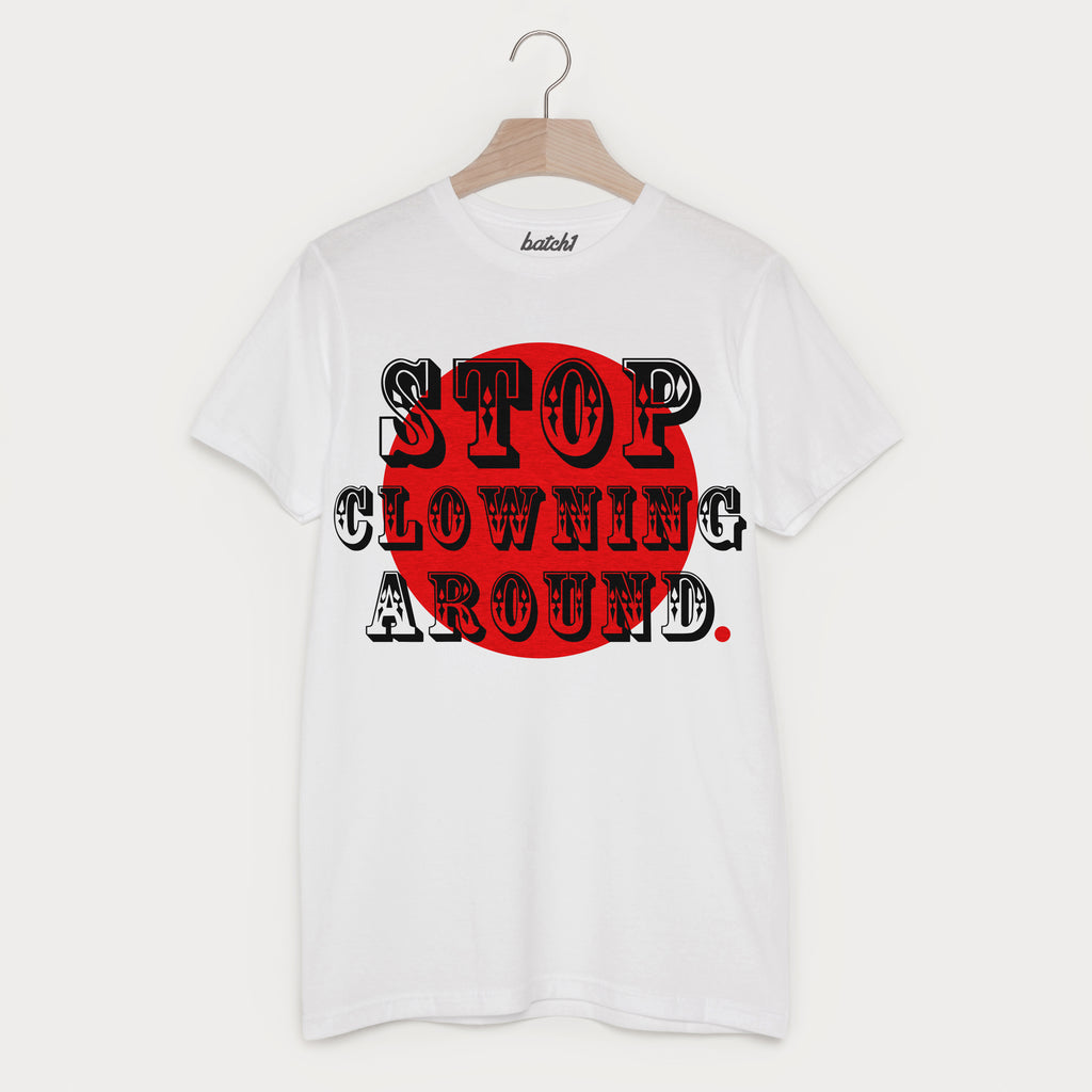 Comic Relief Red Nose Day Clowning Around Funny Unisex Charity T-Shirt