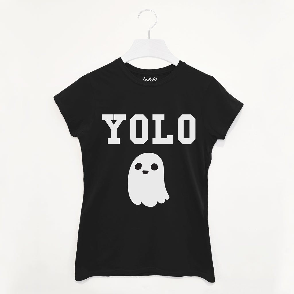 YOLO Ghost Women's Halloween T Shirt