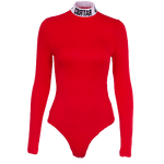 Body Col Montant Rouge