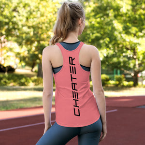 Claw Racerback Tank Pink