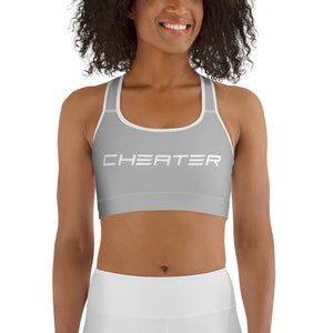 Claw Sports bra Grey