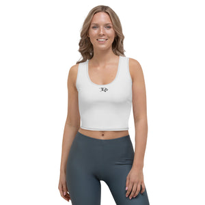 Inception Crop Top Grey