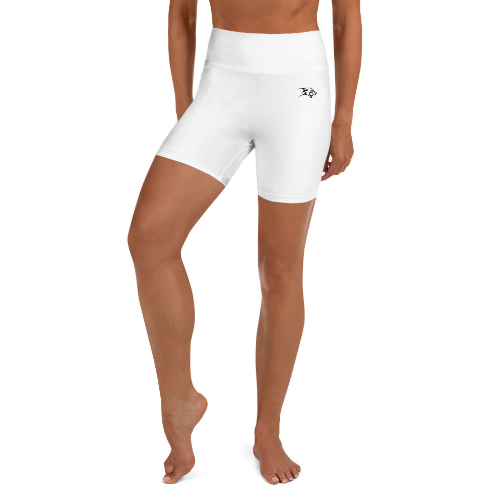 Yoga Shorts White